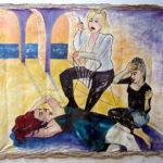 "Scott Street Girls 1992 (30"" x 36"")"