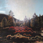 "Sunset Crater Park 2011 (24"" x 48"")"