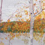 "Foliage Scene 2010 (18"" x 24"")"