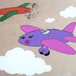 """Ladyplane 2007 (11"""" x 8"""")"""