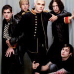 Blender Magazine cover My Chemical Romance by Martin Schoeller