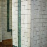 Subway tile effect
