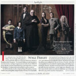 VF Addams Family by Mark Seliger