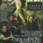 Vanity Fair cover by Annie Leibovitz